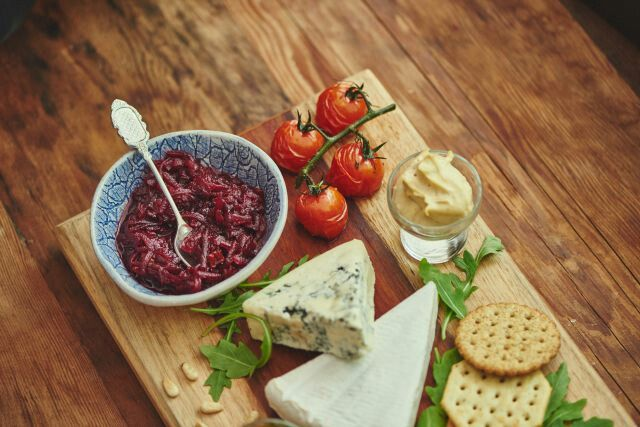 Cheese board with #unbeetable #beetrootchutney #relish_foods