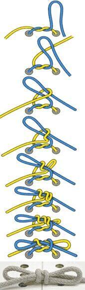 Даже самые тонкие и скользкие шнурки не развяжутся, если из завязать их хирургическим узлом