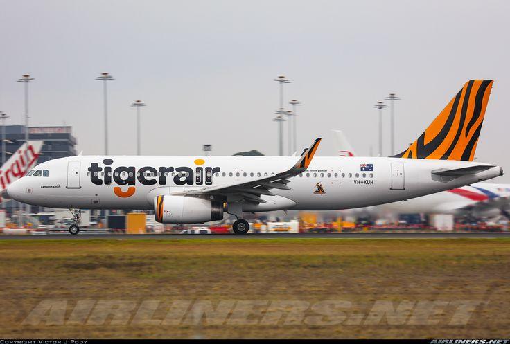 Airbus A320-232(SL), tigerair Australia, VH-XUH, cn 6749. Melbourne, Australia, 12.3.2016.