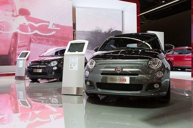 #Fiat #500S and #500GQ at 65th International Motor Show IAA 2013 in Frankfurt