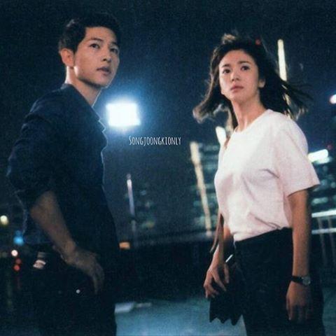 I badly want them to end up together #kdrama #koreandrama #songhyekyo #hyekyo #goddess #songjoongki #sjk #shk #joongki #descendantsofthesun #dots #otp #cc #bigboss #beauty #yoosijin #captainyoosijin #kangmoyeon