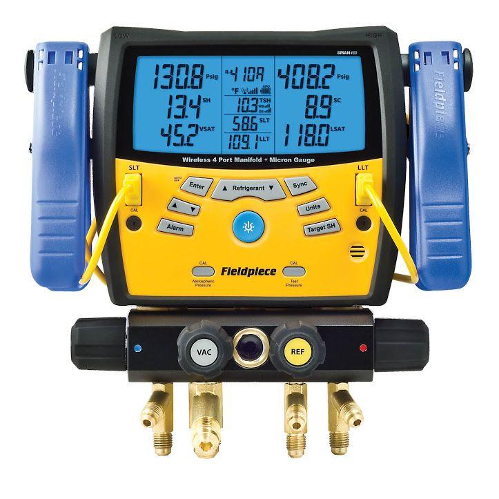 Fieldpiece SM480V SMAN Digital Manifold Wireless Data