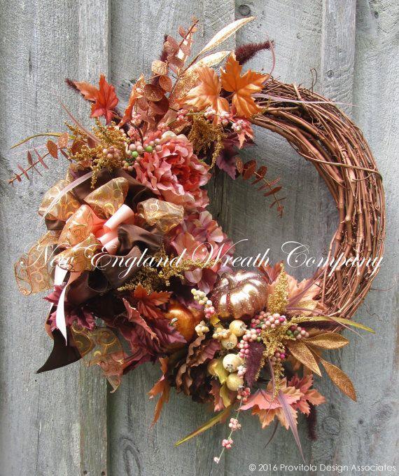 Best 25+ Elegant fall wreaths ideas on Pinterest | Fall ...
