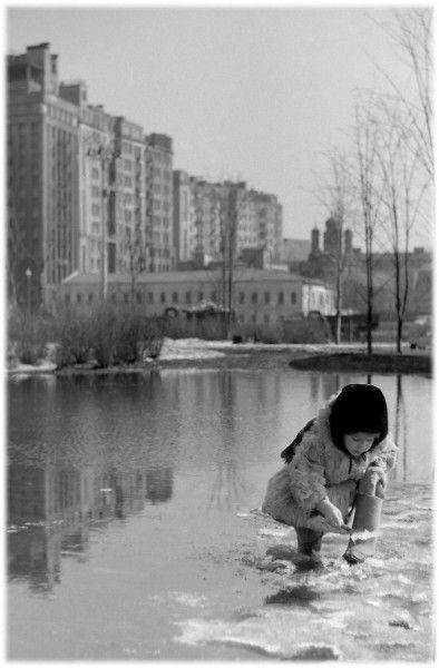 Помыла галошки... 1950-е