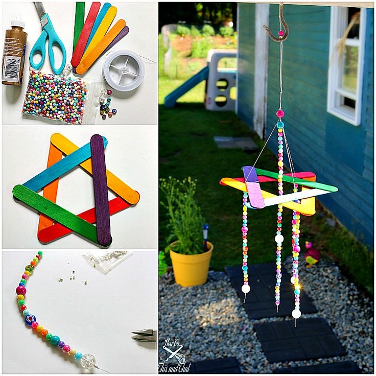 25 best ideas about wind chimes kids on pinterest wind for Wind chimes homemade crafts