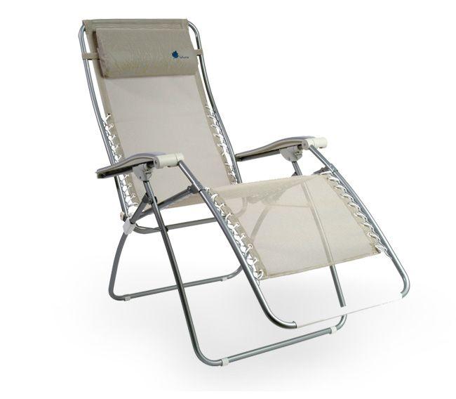 Lafuma Chair – RSXA Outdoor Recliner – Lounger Chair at motorhome ...