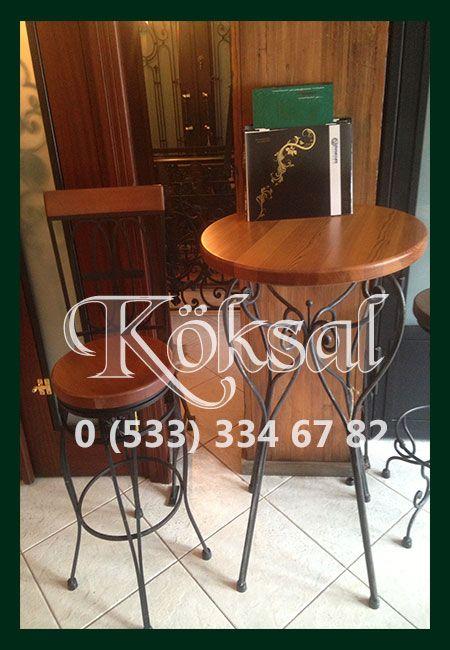 Ferforje Bar Sandalye ve Masaları,Kaliteli Modelleri