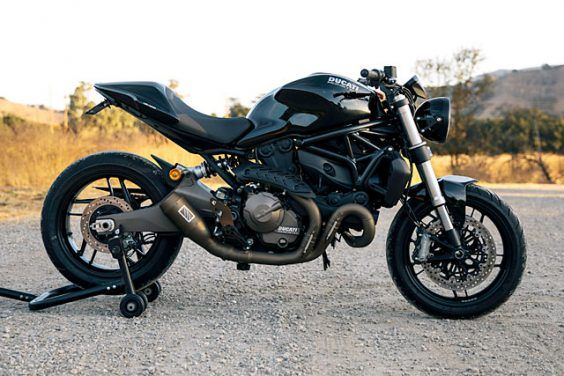 SHOOTING AT MONSTERS. Meet The Bullitts Ducati 821 Canyon Carver
