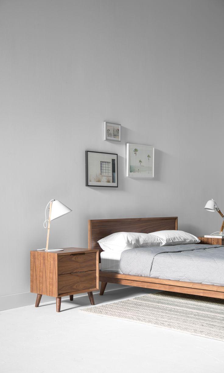 Asher Night Stand. 46 best SANDRO BEDROOM images on Pinterest   Sandro  Walnut veneer