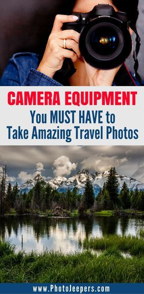 When you're traveling, it's important to have the right camera gear in order to get the perfect shot. We share all of our favorite camera gear for travel photography including: camera bags, the best camera lenses, camera accessories, camera backpacks, and photography tips. This post is packed full of helpful information. Make sure you save this camera gear guide to your photography board!