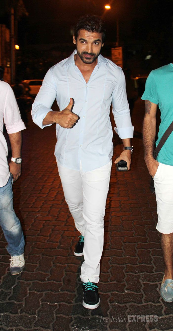 John Abraham | Casual look