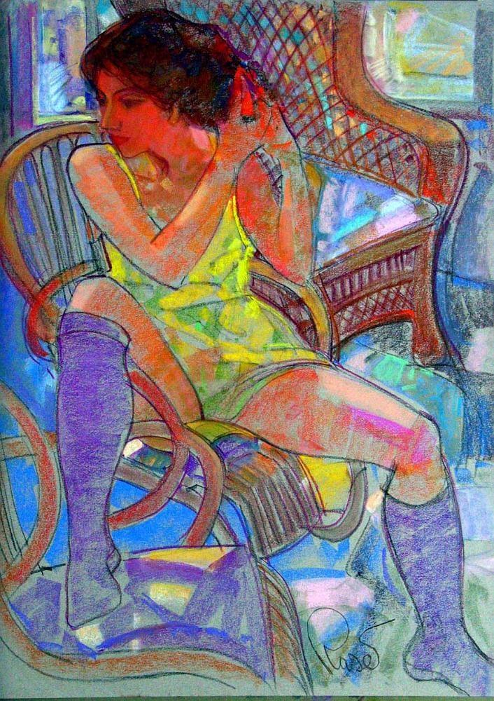JOAN RASET, pastels