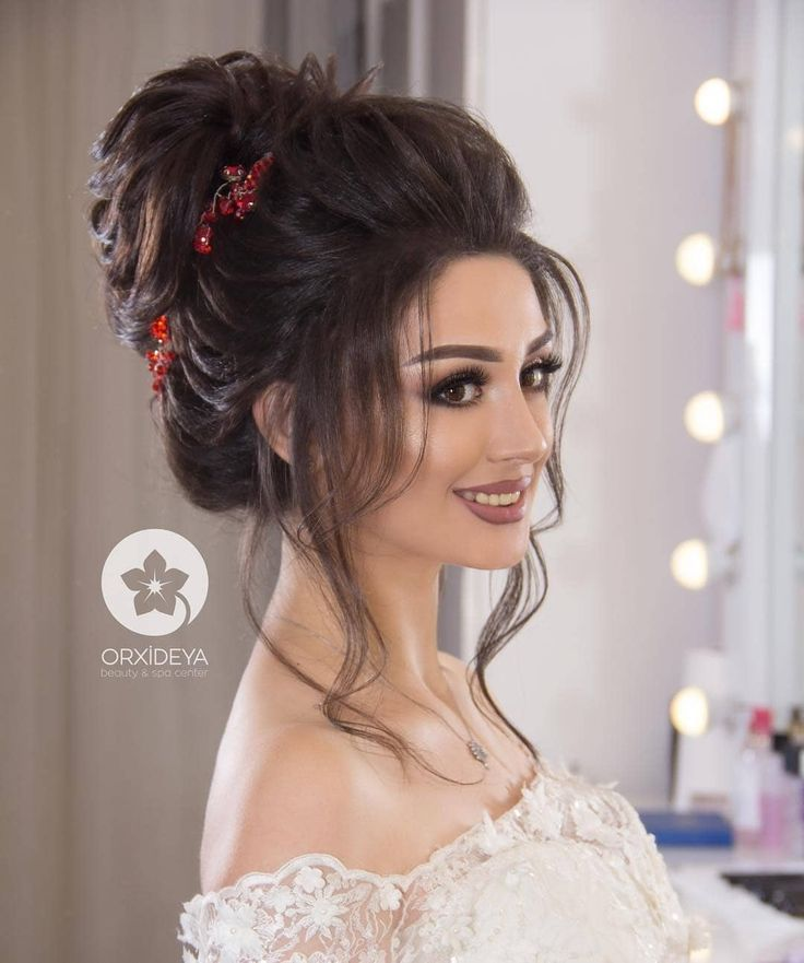 Coiffure Blog Hairstyles For Gowns Bridal Hair Buns Indian Wedding Hairstyles