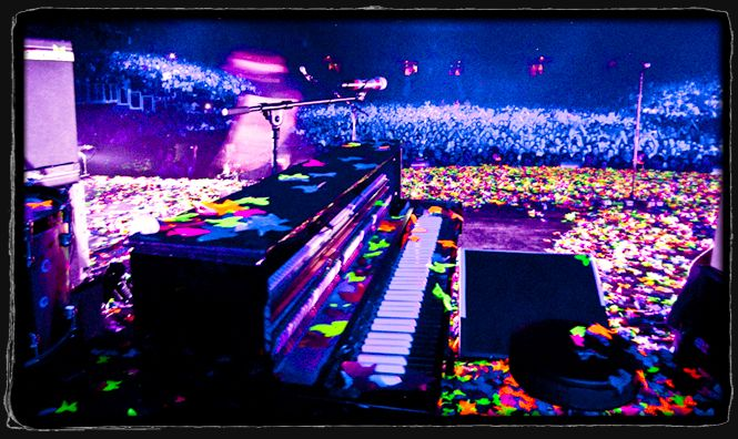 coldplay piano