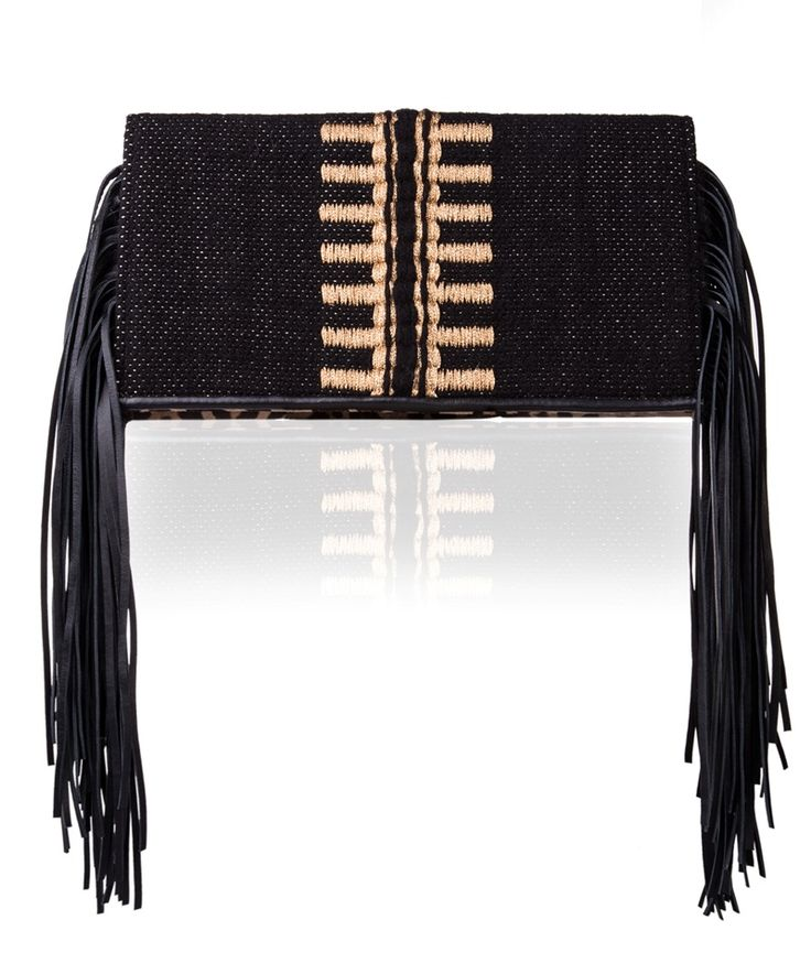 Tagari Black Meliti Clutch Bag