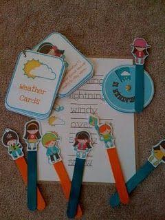 Preschool Printables -- sets organized by theme