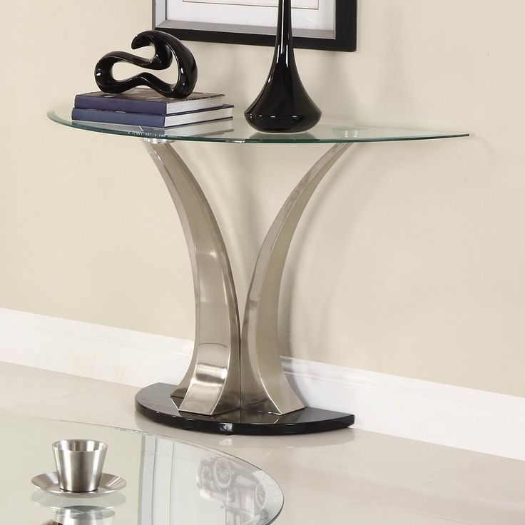 Half Circle Console Tables | AllModern
