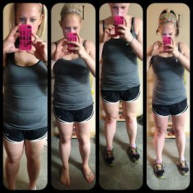 The Girl Who Thought Too Much: 30 Day Shred Results -- Work Out Wednesday Link Up!