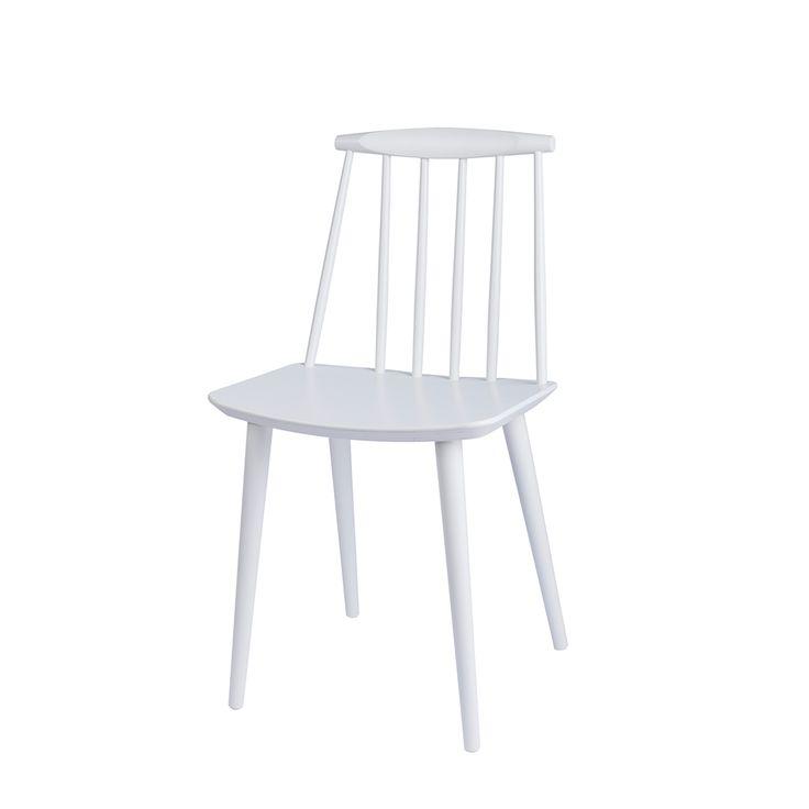 Hay - FDB Kollektionen - J77 stol - hvid