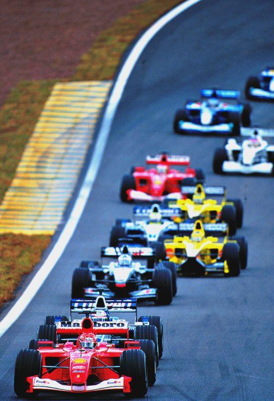 Michael Schumacher l Brazil 2001