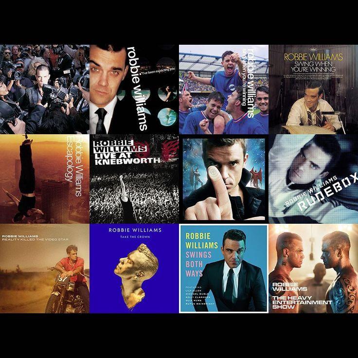 "19.4k Likes, 2,282 Comments - Robbie Williams (@robbiewilliams) on Instagram: ""Favourite Robbie album? GO!"""