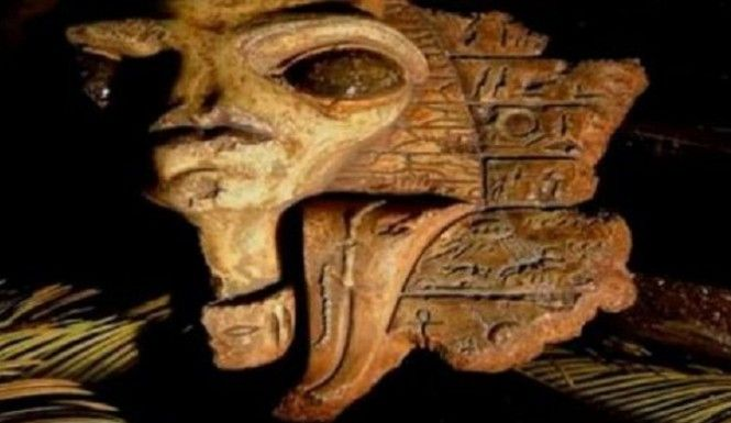 Alien and UFO circles are abuzz with claims of remarkable ancient Egyptian artifacts discovered in the former Jerusalem home of the famous Egyptologist Sir:
