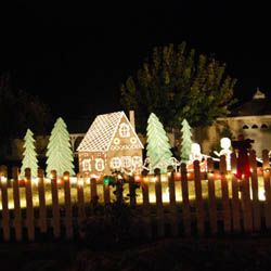 115 best diy christmasanimated christmas images on pinterest christmas yard decorating diy outdoor christmas lights solutioingenieria Images