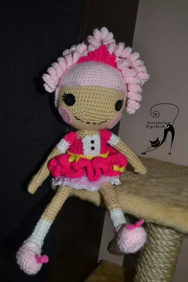 Crochet lalaloopsy princess