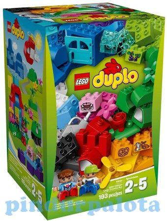 10622 LEGO Duplo XXL Nagy kreatív fejlesztő építőjáték kicsiknek a tökéletes karácsonyi ajándék rengeteg elemmel, melyet raktárról azonnal ingyenes szállítással rendelhet meg.