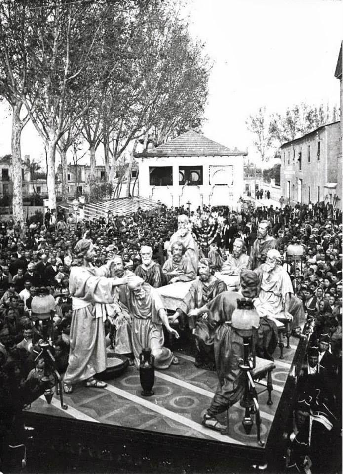 Semana Santa El Carmen de Murcia, paso de procesion destruido en la guerra civil?