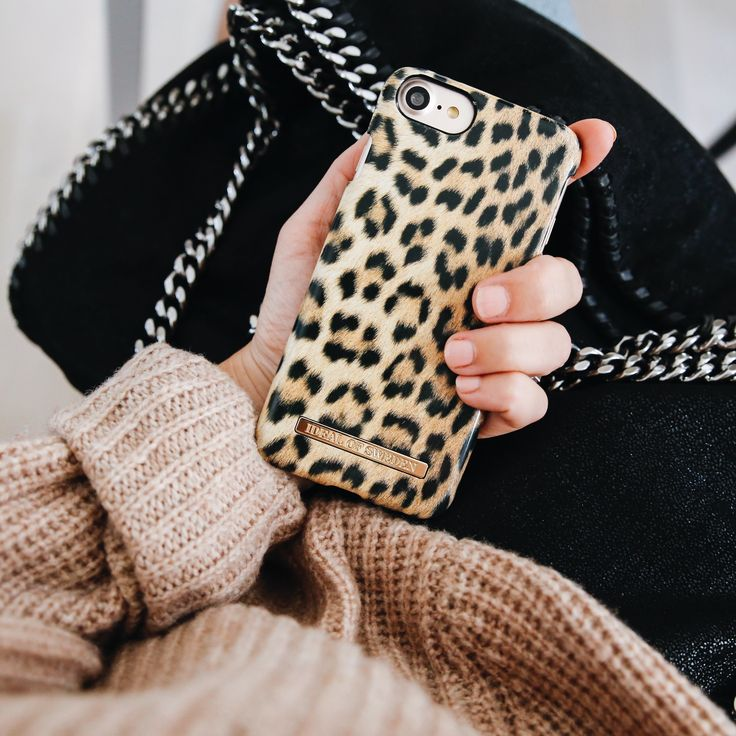 Wild Leopard by lovely @emmamelins - Fashion case phone cases iphone inspiration iDeal of Sweden #leo #fur #pattern #fashion #inspo #iphone