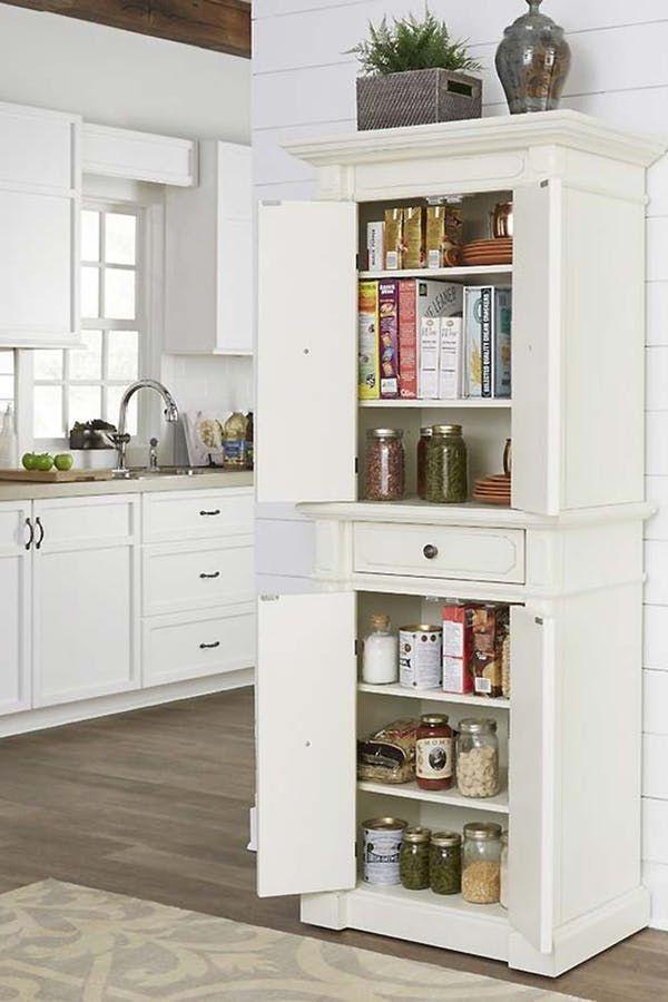 21 Easy Ways To Add Extra Storage To Your Kitchen Kitchen Cabinet Storage Simple Kitchen Remodel Extra Kitchen