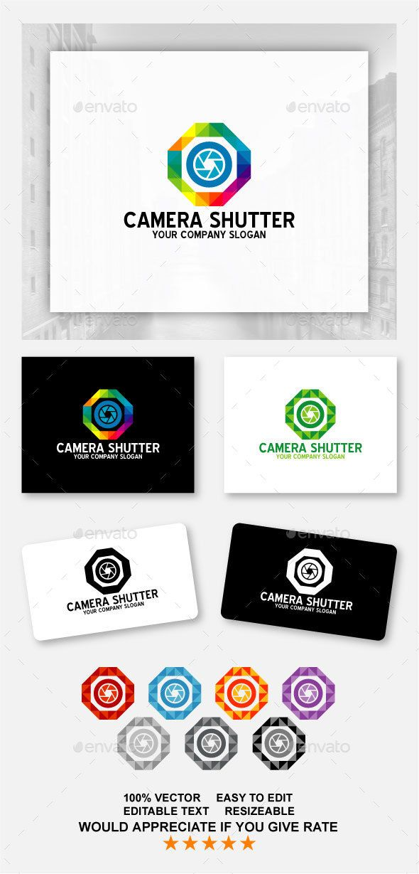 Camera Shutter — Vector EPS #circle #rotate • Available here → https://graphicriver.net/item/camera-shutter/14000913?ref=pxcr