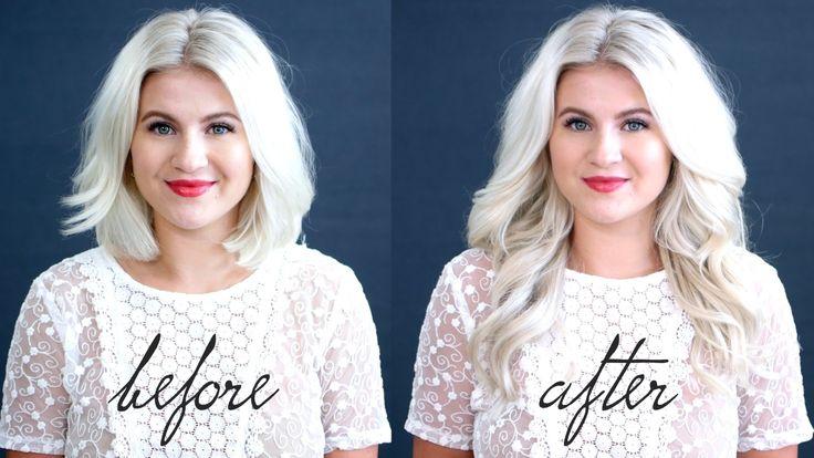25 Best Ideas About Big Hair On Pinterest: 25+ Best Ideas About Short Hair Extensions On Pinterest