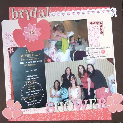 Bridal Shower : Gallery : A Cherry On Top