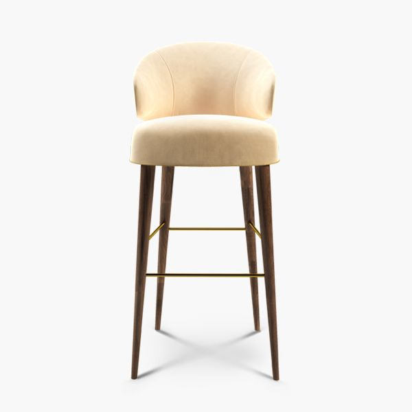 The beautiful 50s Hollywood actress Tippi Hedren is the best definition of sophistication, self-assurance and cool-blonde style. Like Hedren, Tippi mid century contemporary bar chair gives any modern interior design set a fresh and lively feel.