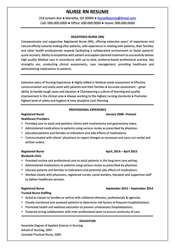 best 20  nursing resume template ideas on pinterest