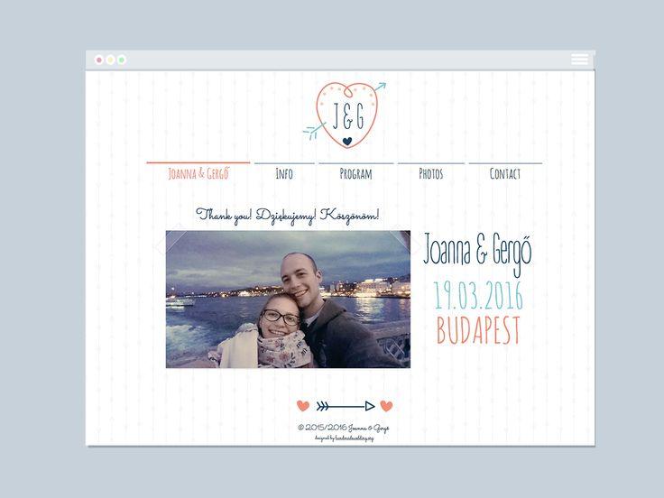 Wedding Website | Varró Joanna Design | Website | Web Design | Graphic Design | Inspiration | Graphic Designer