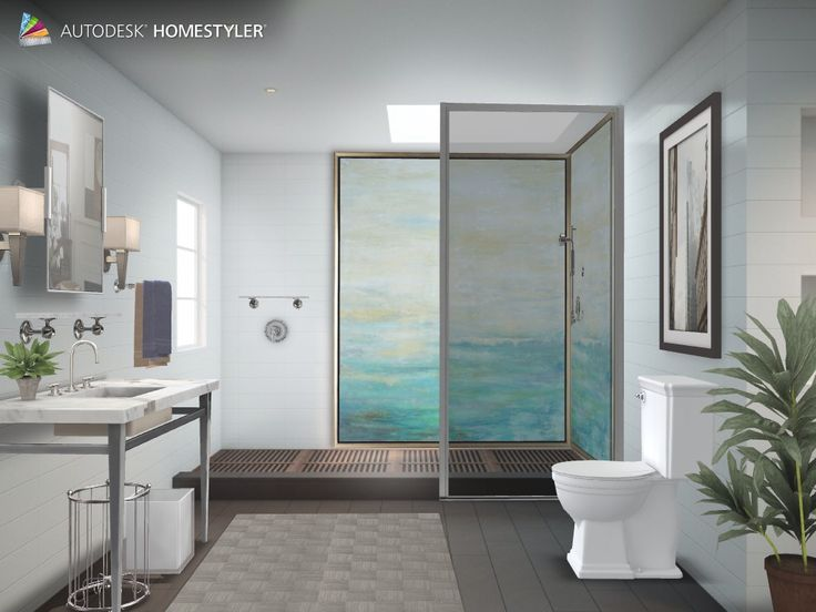 Check out my interiordesign urban bathroom from for Homestyles com