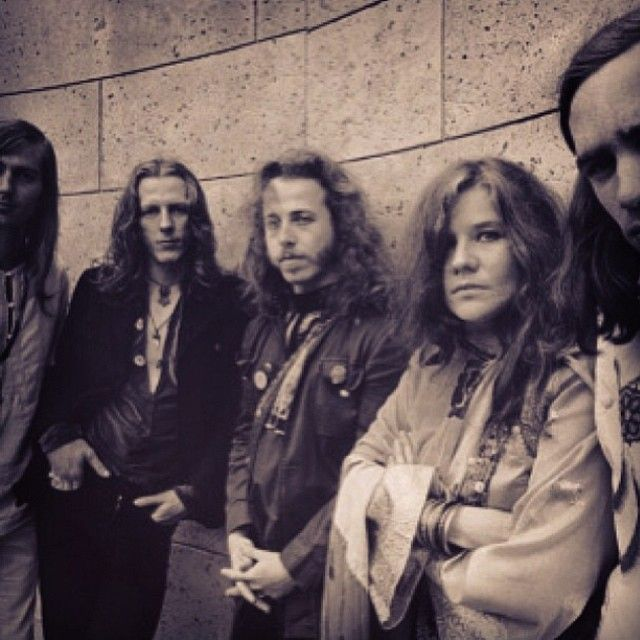Big Brother and the Holding Company. JANIS JOPLIN'S BAND