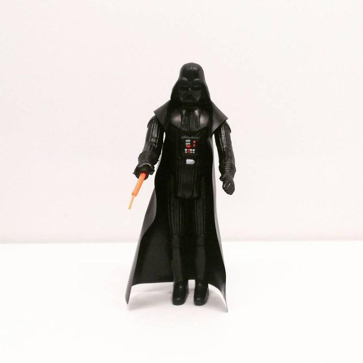Darth Vader (1977) Una nueva esperanza. A New Hope. Episode IV. Star Wars. The First 12 Figures of Kenner. Vintage.