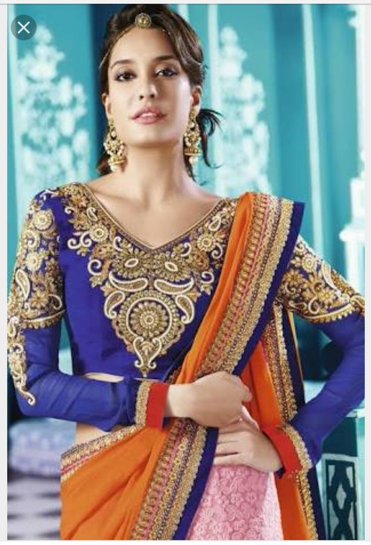 Lisa Haydon in a wonderful saree