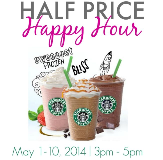 Starbucks Frappuccino Happy Hour; Price-Off; Target audience = casual Starbucks drinkers (i.e. not loyal customers); Non-Franchise Building because this is a short event that focuses on price in an effort to increase sales rather than Starbucks brand equity