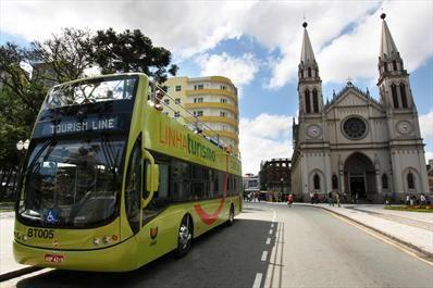 Novos ônibus de dois andares da Linha Turismo. Curitiba, 18/11/2008 Foto: Orlando Kissner/SMCS. Arquivo - <br>Vale a pena ver os novos <br>atrativos turísticos da cidade - Álbum - Prefeitura de Curitiba