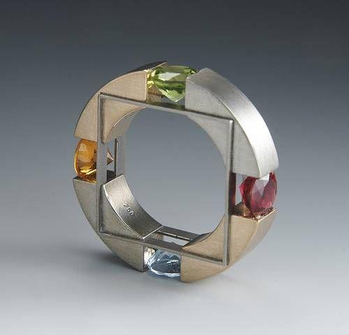 Red gold, steel, titanium - Daniel Chiquet