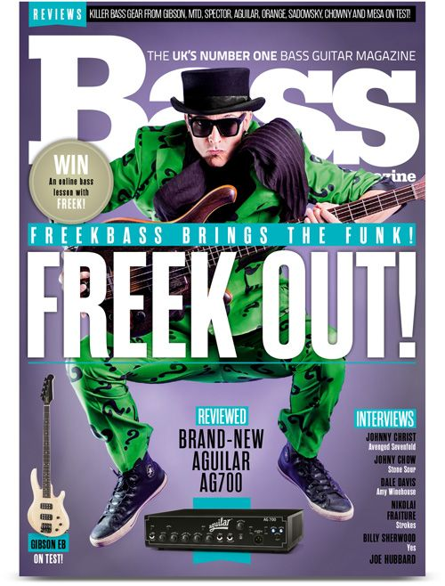 Check out the Latest Issue of Bass Guitar Magazine by subscribing to My Favourite Magazines: