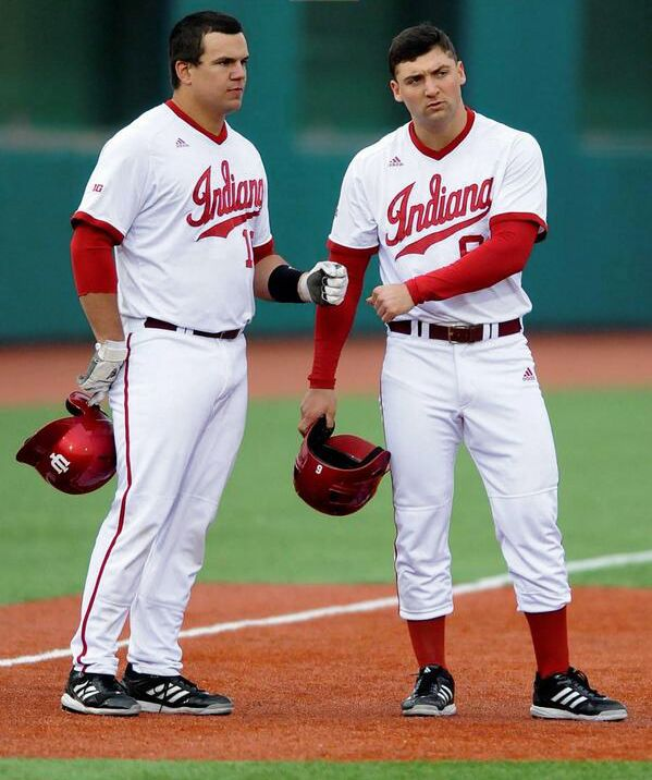 Indiana Baseball Players Kyle Schwarber And Sam Travis Were Both Chosen On Day One Of This Year S Major League Baseball Draft Sch Iu Hoosiers Indiana Hoosiers