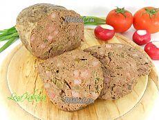 необыкновенно вкусная домашняя печеночная колбаса