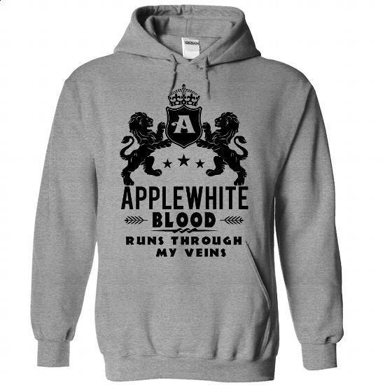 APPLEWHITE - #designer hoodies #mens t shirt. GET YOURS => https://www.sunfrog.com/Funny/APPLEWHITE-2885-SportsGrey-50287422-Hoodie.html?60505