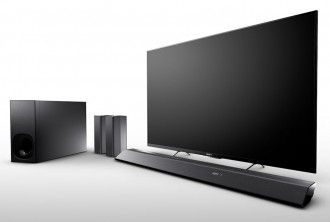 Sony HT-RT5 Soundbar met draadloze luidsprekers